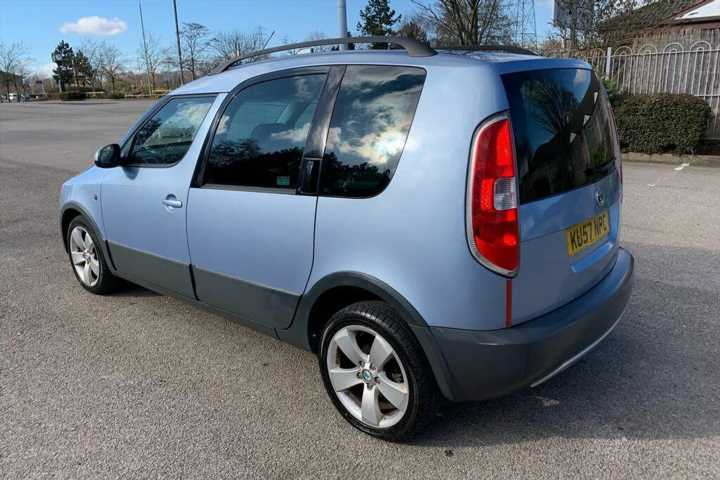 Skoda Roomster Scout | Shed of the Week