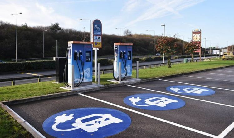 Electric cars: Charging stations to be installed along Britain's motorways