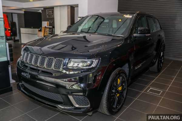 Jeep Grand Cherokee Trackhawk – most powerful SUV in M'sia with 707 hp 6.2L supercharged V8; RM869k – paultan.org