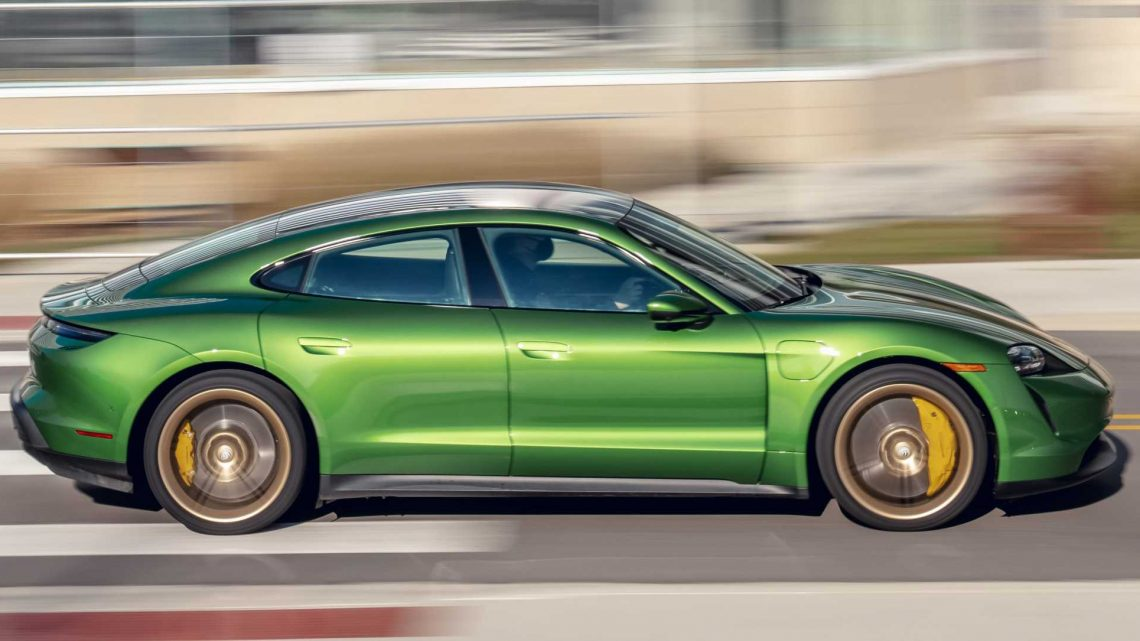 Porsche Updates the 2020 Taycan\u2019s Acceleration and Charging