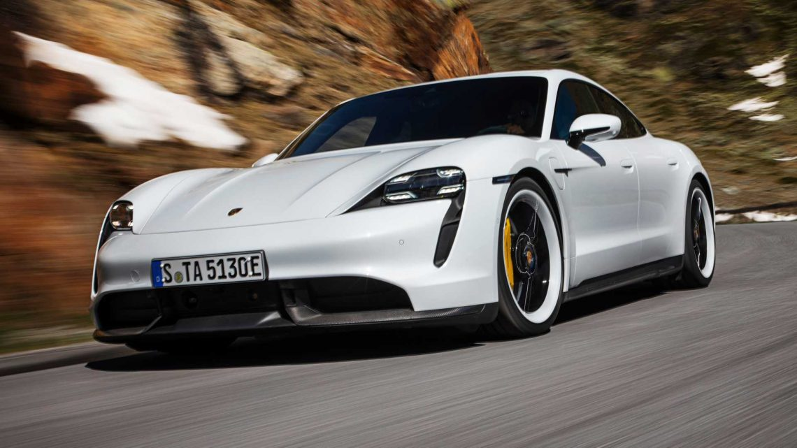 Early Porsche Taycans Getting Software Update To Improve Speed, Charging