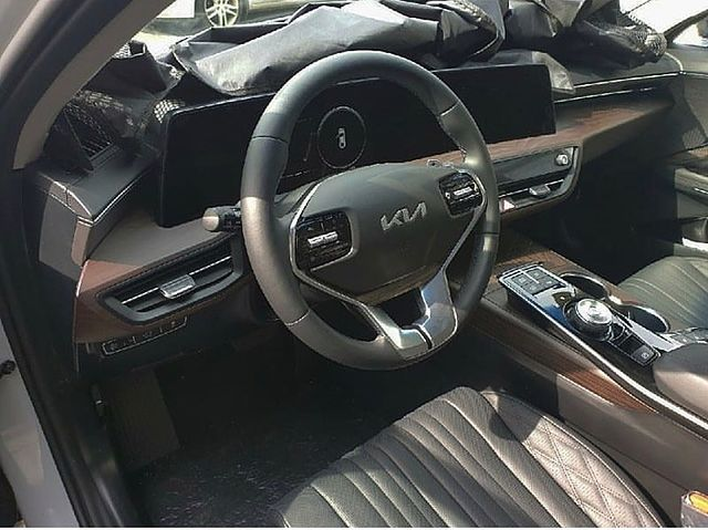 Kia K8 interior leaked ahead of official debut in Korea – paultan.org