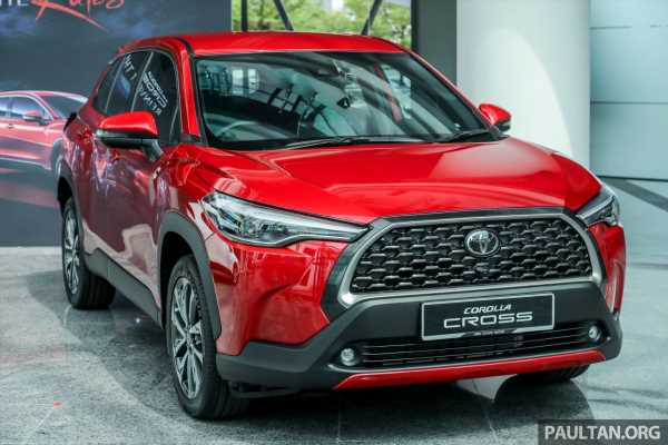 2021 Toyota Corolla Cross launched in Malaysia – two variants, 1.8L with 139 PS and 172 Nm, CVT; fr RM124k – paultan.org