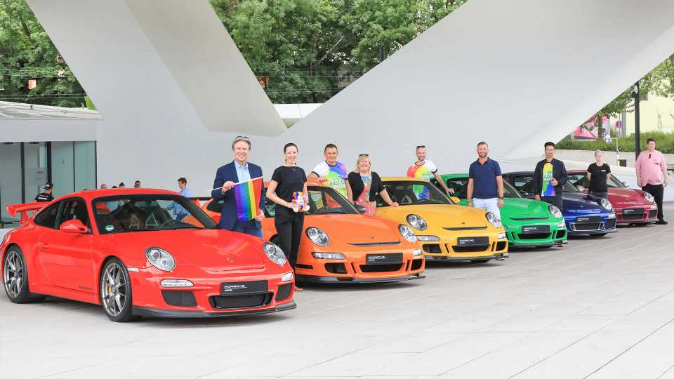 Porsche's Version of March Madness Will Crown the Company's Best Paint Color of All Time