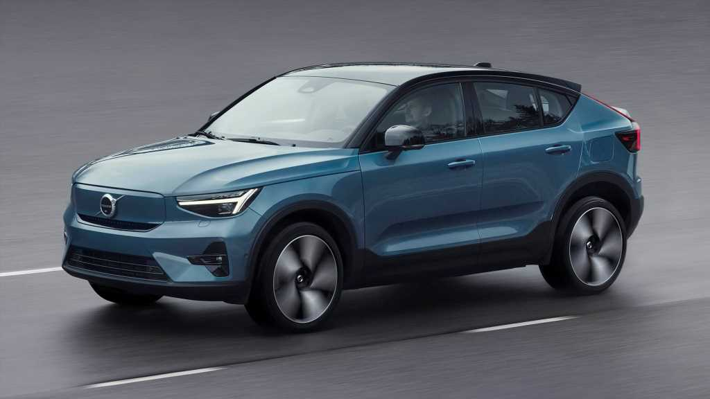 2022 Volvo C40 Recharge Is One Swede-Looking Electric SUV Coupe
