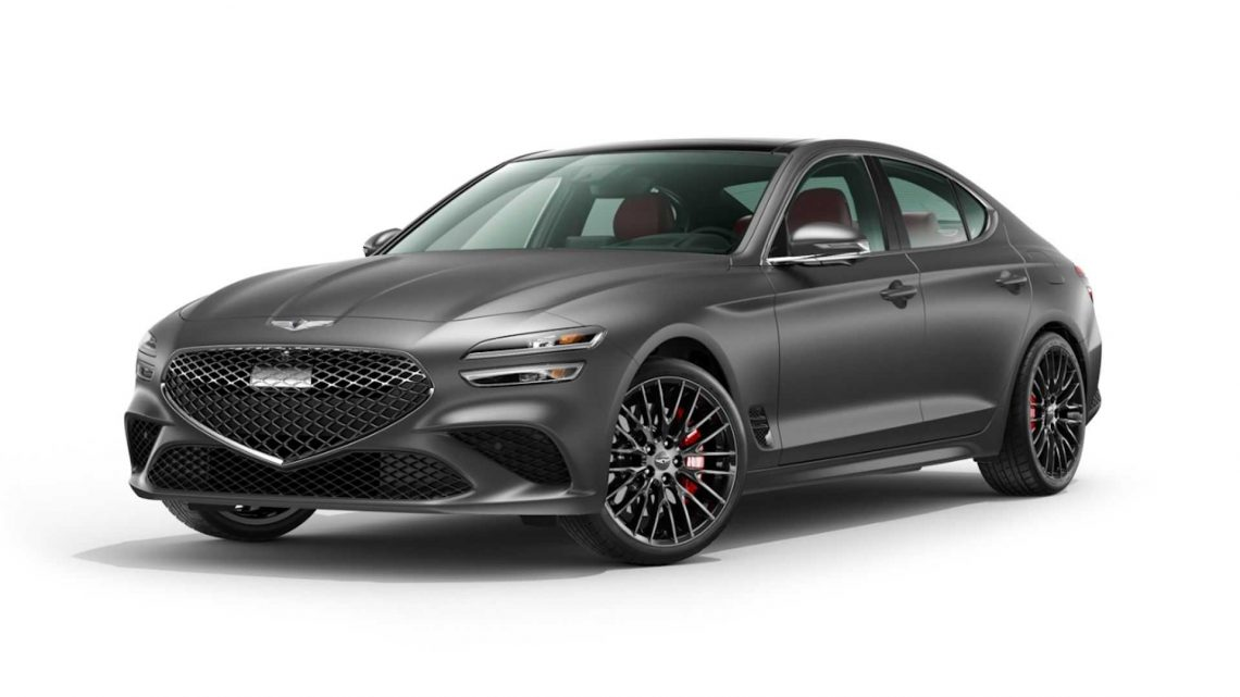 Limited 2022 Genesis G70 Launch Edition Coming, Reservation Now Open