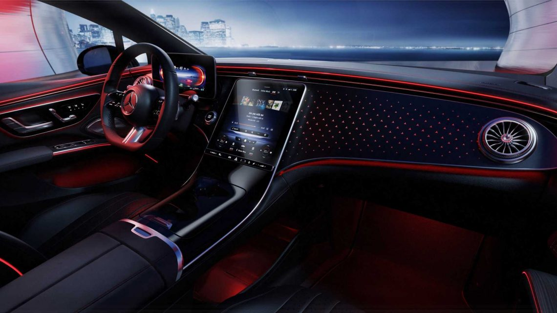 Mercedes EQS Shows Interior Without The Hyperscreen: Less Is More?