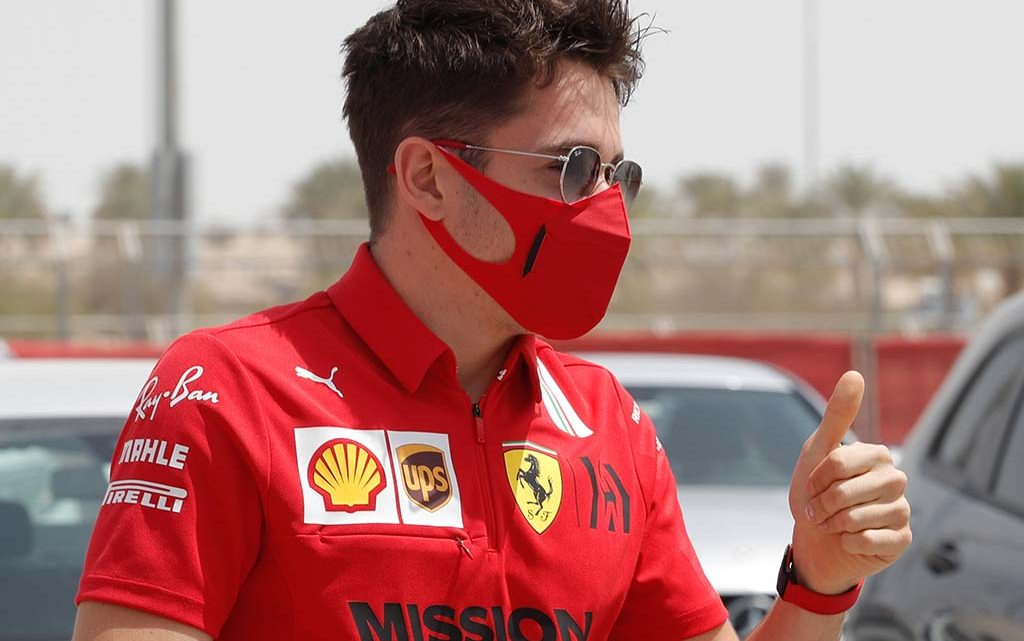 Charles Leclerc 'struggled massively', but happy with P4