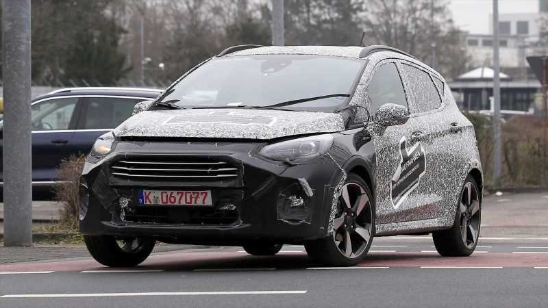 2021 Ford Fiesta facelift spied ahead of debut later this year
