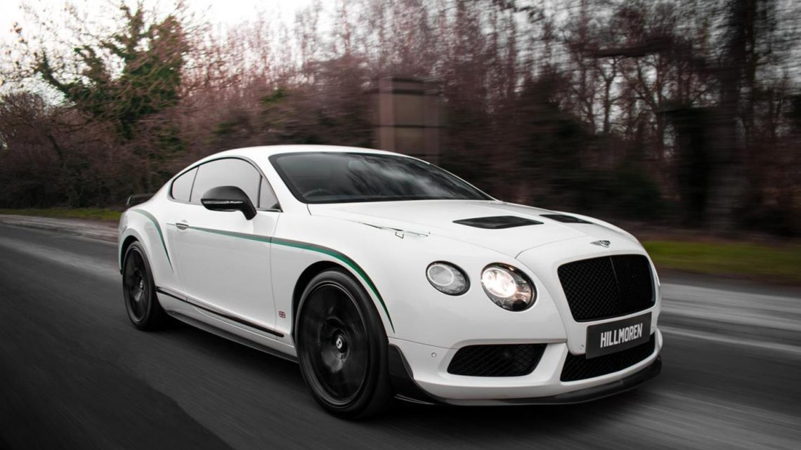 Bentley Continental GT3-R | Spotted