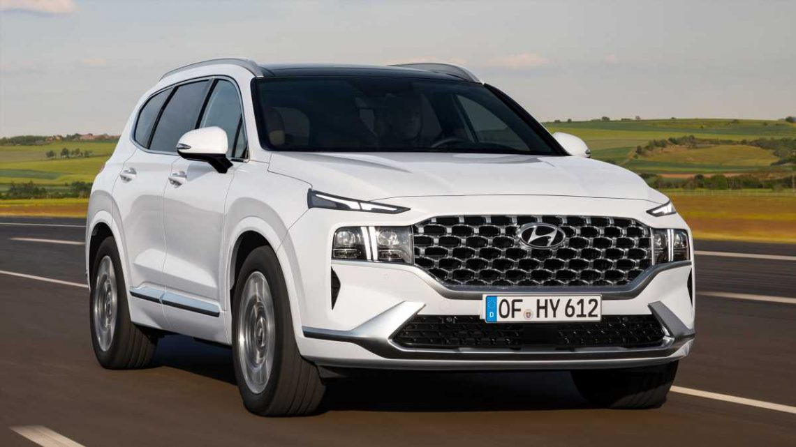 New 2021 Hyundai Santa Fe on sale now priced from £40,250
