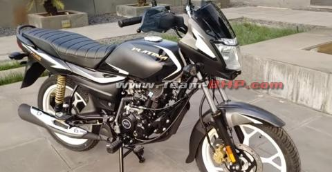 Bajaj Platina 110 with single-channel ABS launched