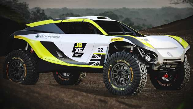 Lotus teams up with JBXE Racing for new Extreme E series