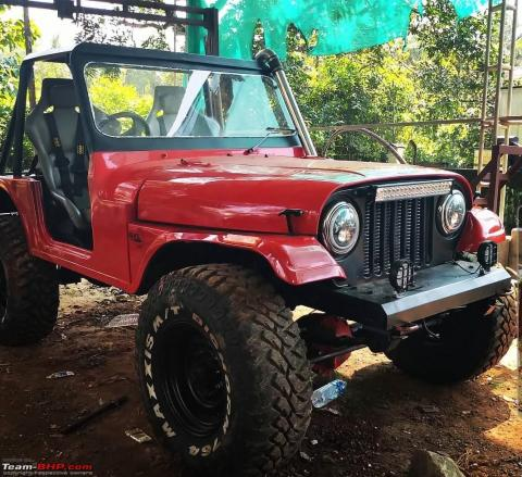 The Outlaw – An IFS IRS track jeep with rear steering