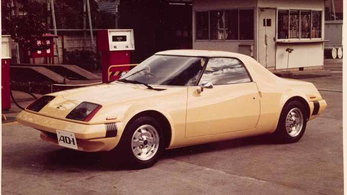 1975 Nissan AD-1: The MR2 Competitor That Never Was