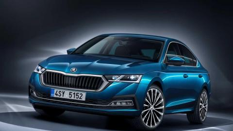 Skoda Octavia launch in April 2021