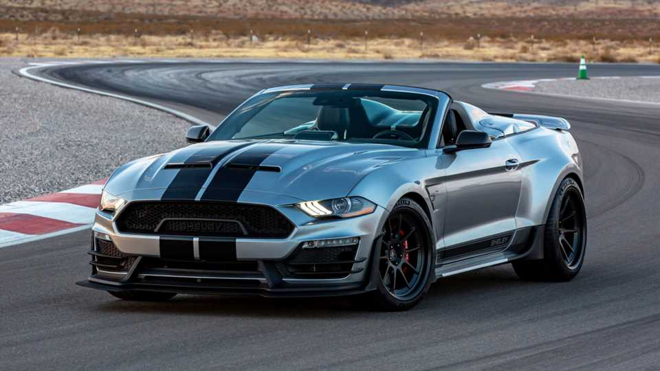 The 825-HP 2021 Shelby Super Snake Speedster Is One Mean Roofless Mustang