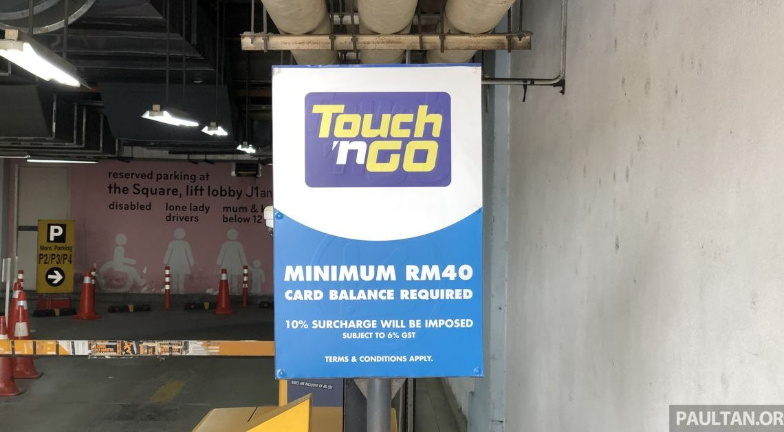 Touch n Go parking surcharge: over 93% removed now – paultan.org