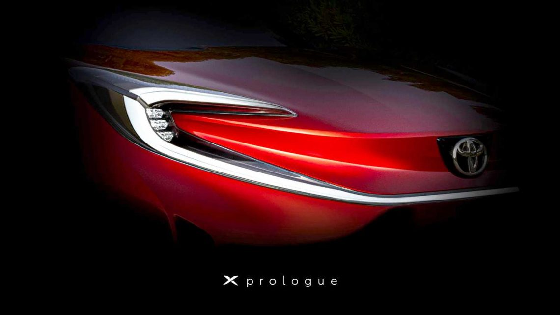 New Toyota X Prologue concept hints at compact electric SUV