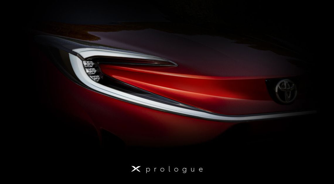 Toyota X Prologue teased ahead of debut on March 17 – paultan.org