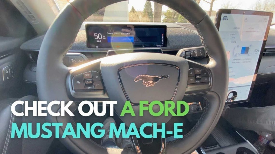 All Electric Family Checks Out Ford Mustang Mach-E: First Impressions