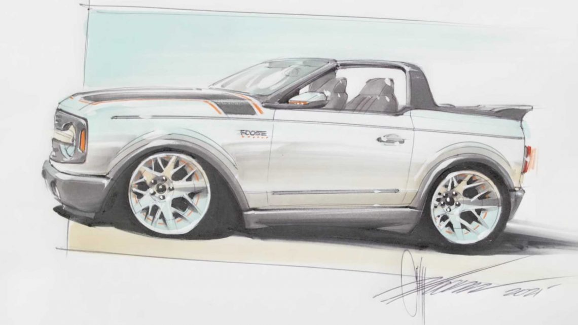 Ford Bronco Gets Reimagining As Street Rod From Chip Foose
