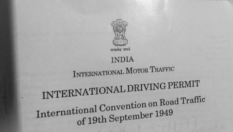 UAE: Now renew International Driving Permit at Indian embassy