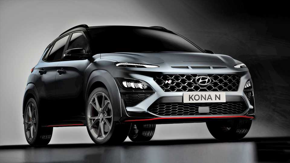 Hyundai Pretty Much Reveals the Kona N, a Plus-Size Veloster N