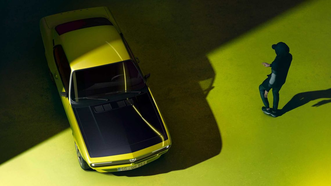 Opel Manta Revival Officially Teased As Electric Restomod