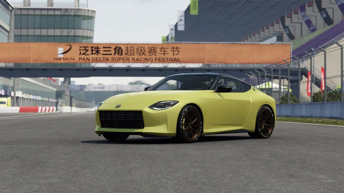 Nissan 400Z Makes Gaming Debut in Project CARS 3