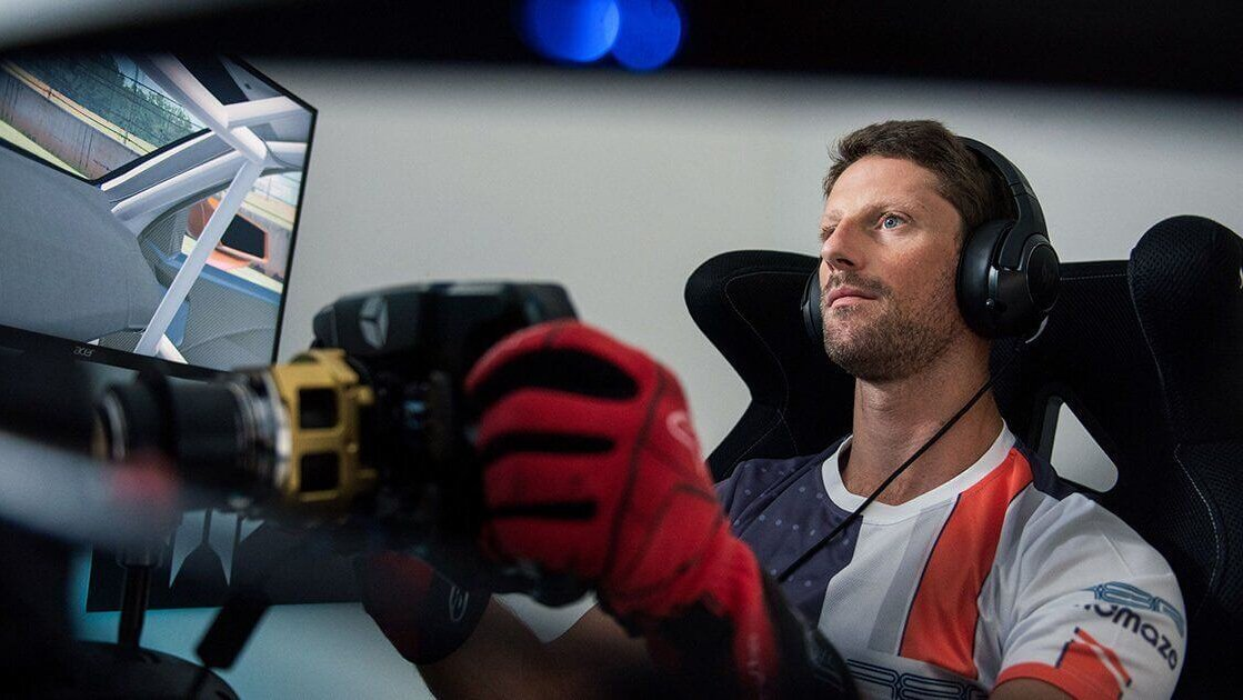 Romain Grosjean Partners Back Up With Haas for 2021 F1 Esports