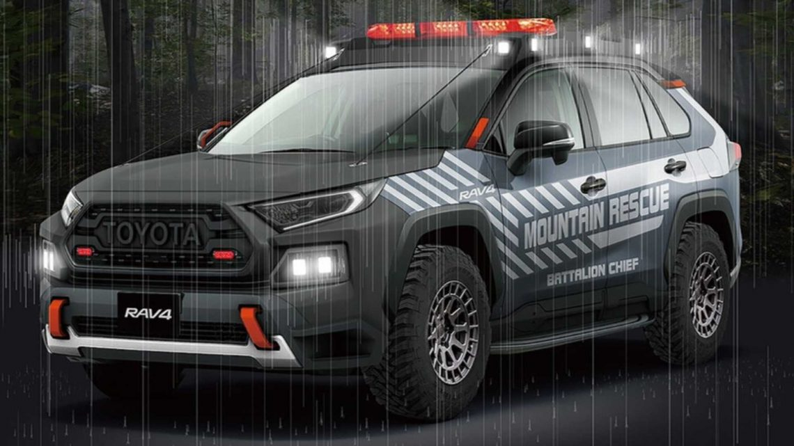 Japan Is Getting A Rad Toyota RAV4 Off-Road Rescue Vehicle Concept