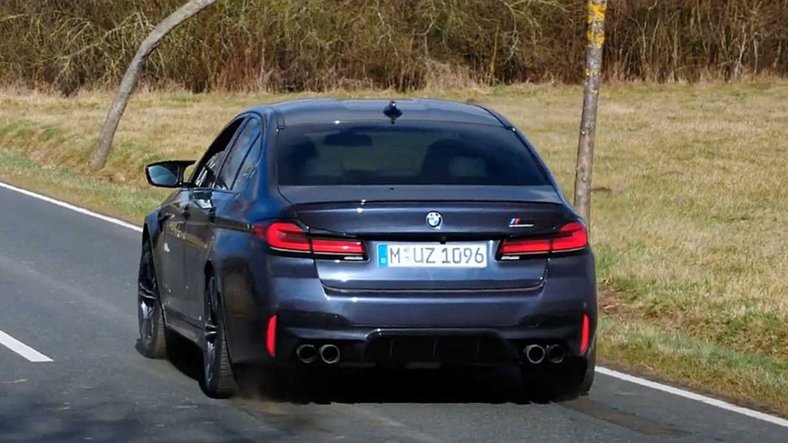 Watch 2021 BMW M5 Competition Hit 124 MPH In Under 10 Seconds