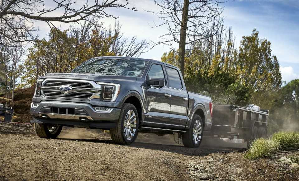 2021 Ford F-150 simplifies towing with onboard scales that measure payload and tongue weight