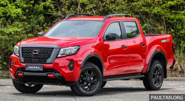 2021 Nissan Navara facelift launched in Malaysia – six variants, including new Pro-4X; from RM92k-RM142k – paultan.org