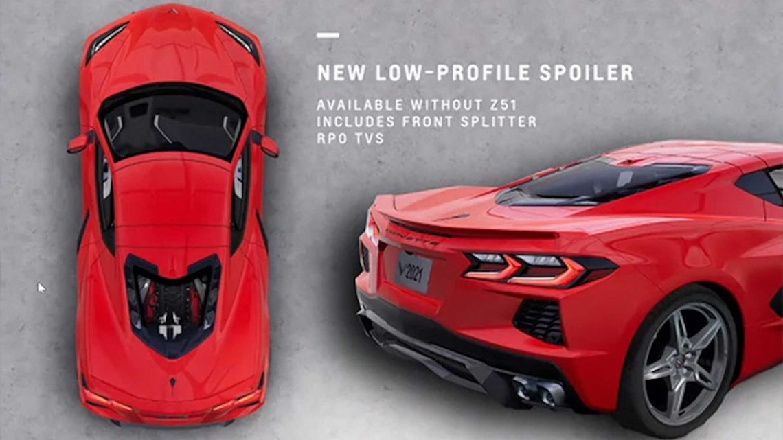 2022 Chevy Corvette Stingray To Come With Low-Profile Spoiler Option