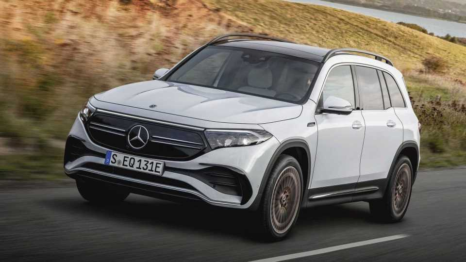 2022 Mercedes-Benz EQB Debuts In China With AMG Line, 288 HP