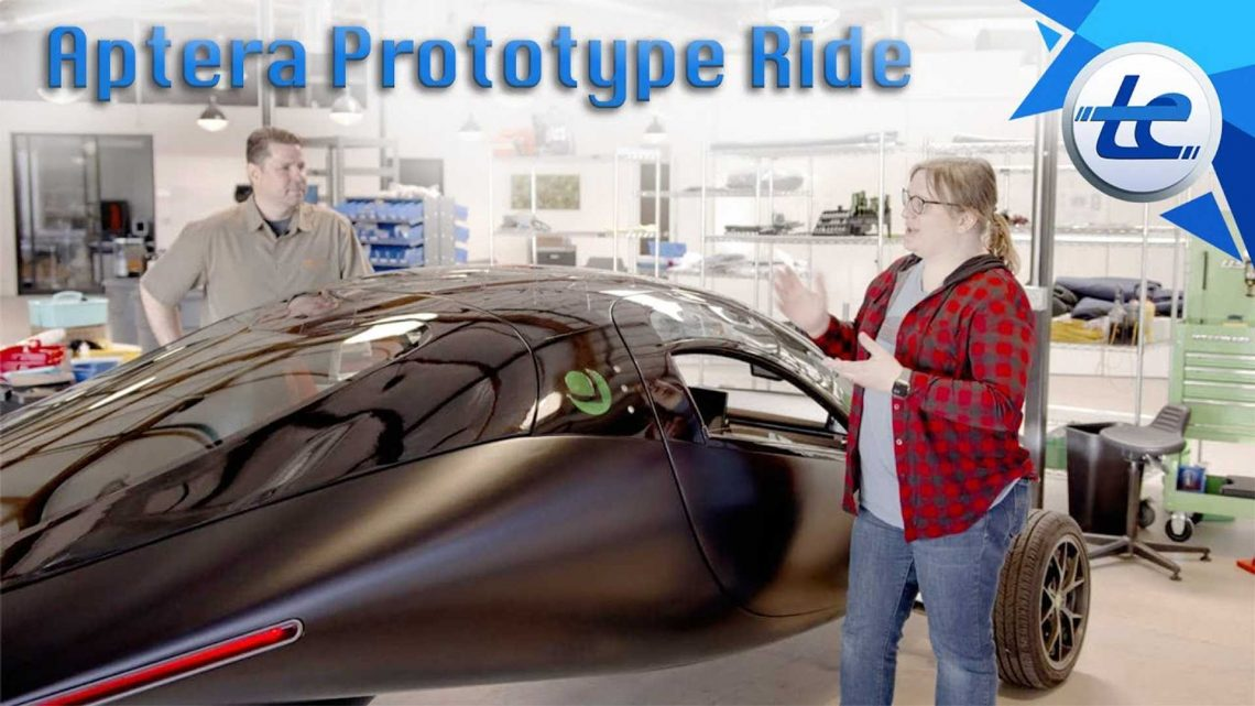 Aptera Alpha Prototype Takes Transport Evolved On A Quick Spin