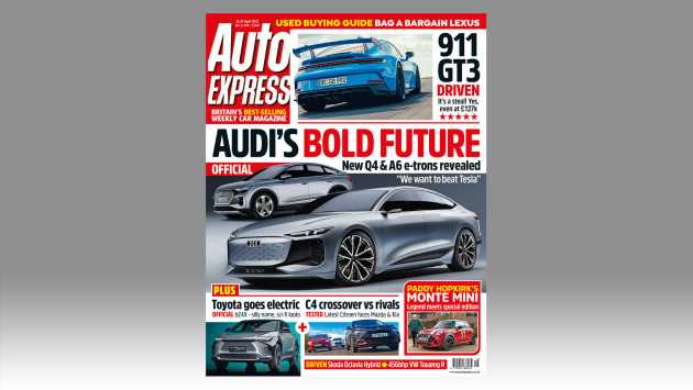 Audi's bold new future and Porsche 911 GT3 driven in this week's Auto Express