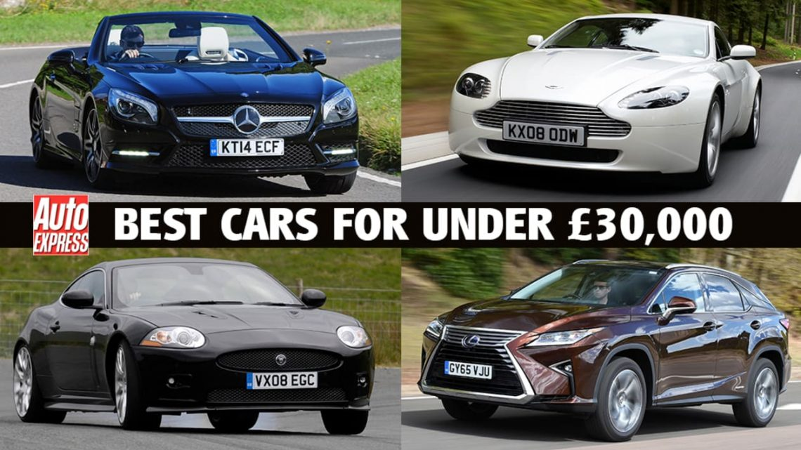 Best cars for £30,000 or less