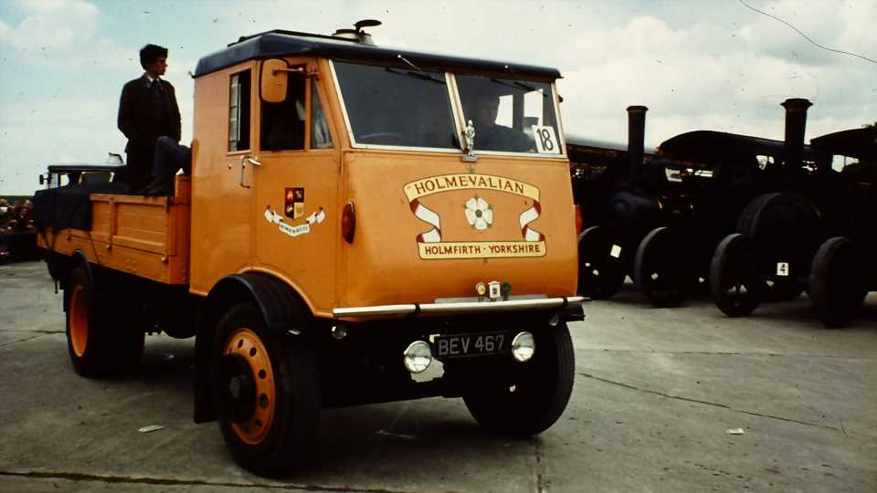 Britain Was Still Trying to Make Steam Trucks Happen in the 1930s
