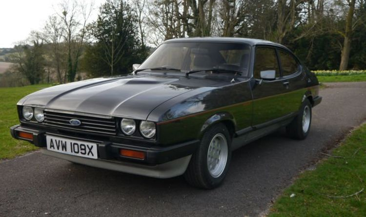 Classic rare Ford Capri owned by Henry Ford II up for sale for up to £35,000