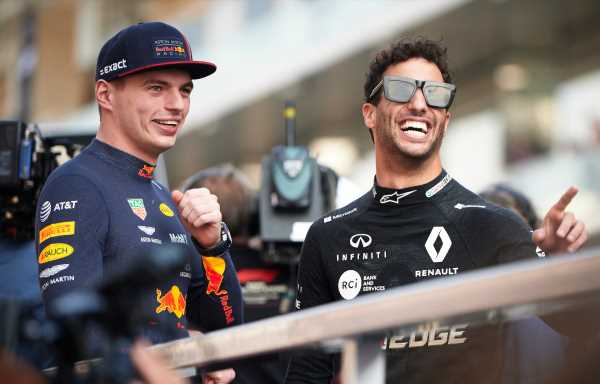 Daniel Ricciardo picks Verstappen over Norris
