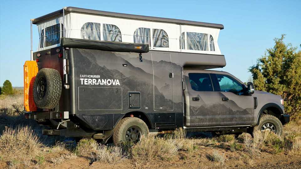 EarthCruiser Terranova Camper Debuts As High-Class Overlanding Rig