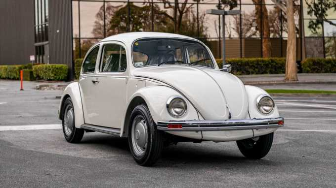 Essentially New 1983 Volkswagen Beetle from Mexico For Sale, Bring Huge Money