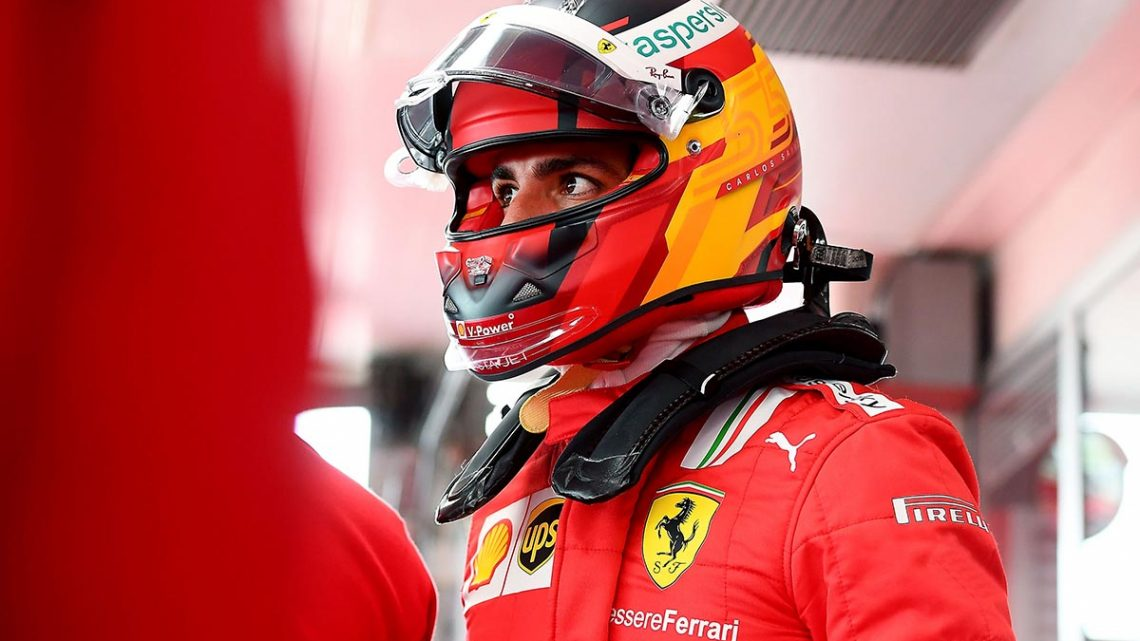 Ferrari were not used to Carlos Sainz's regular Maranello visits