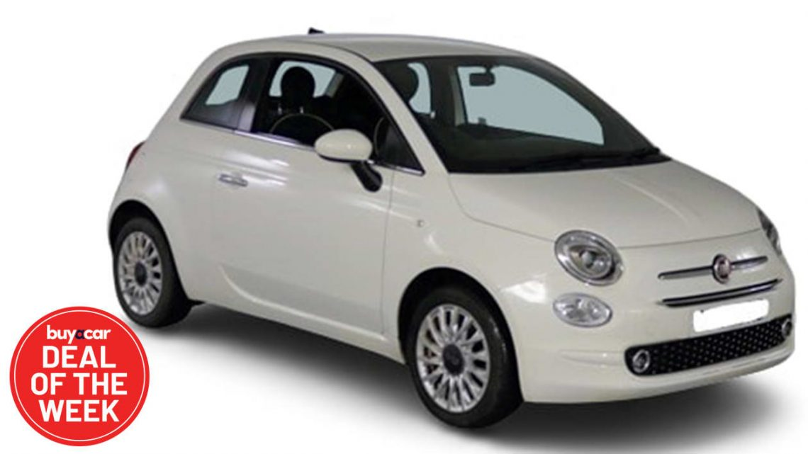 Fiat 500 Lounge: Deal of the Week