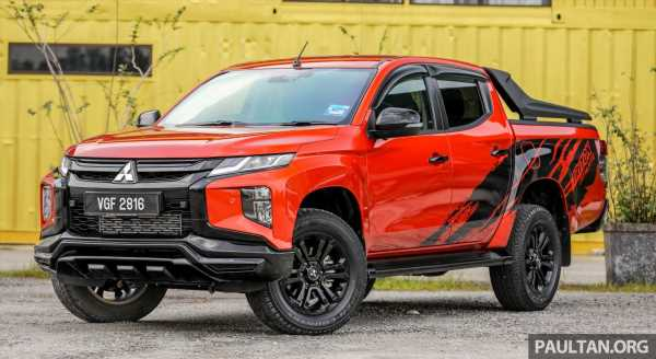 GALLERY: Mitsubishi Triton Athlete, new range-topper – paultan.org