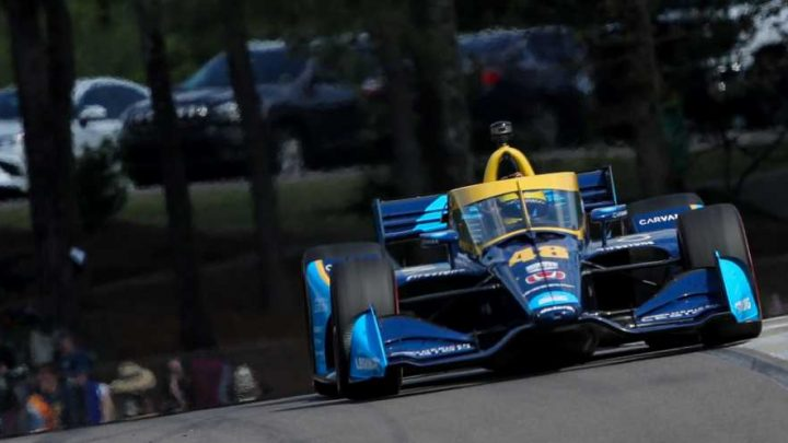 IndyCar's '21 Rookie Class Sure Doesn't Act Like One in IndyCar Opener