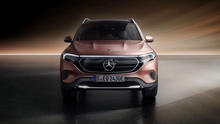 Mercedes-Benz EQB Debuts in Shanghai, But We'll Have to Wait For It